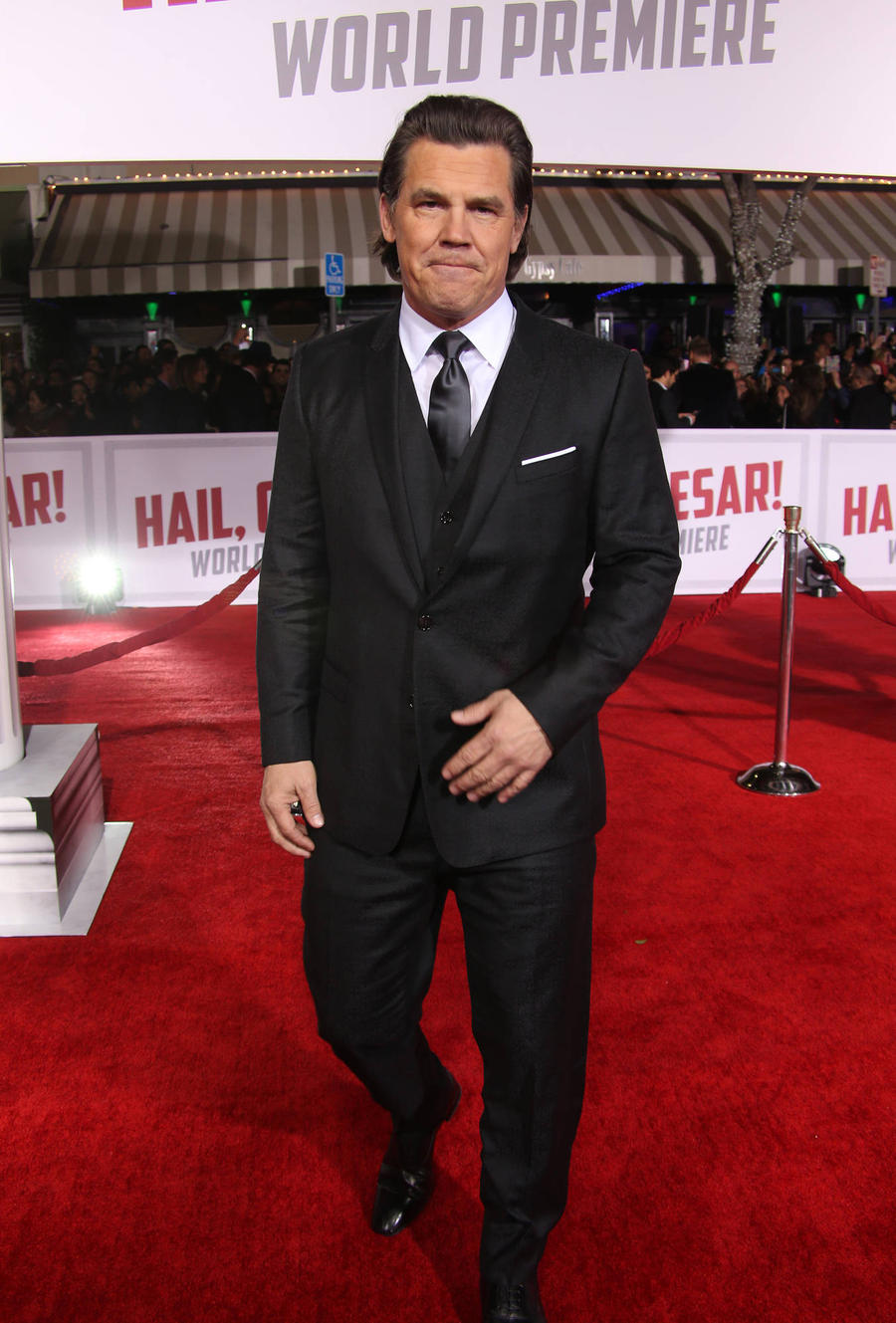Josh Brolin Got Slap Happy With Clooney