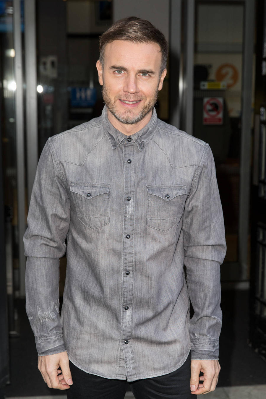 Gary Barlow Turns Birthday Singer