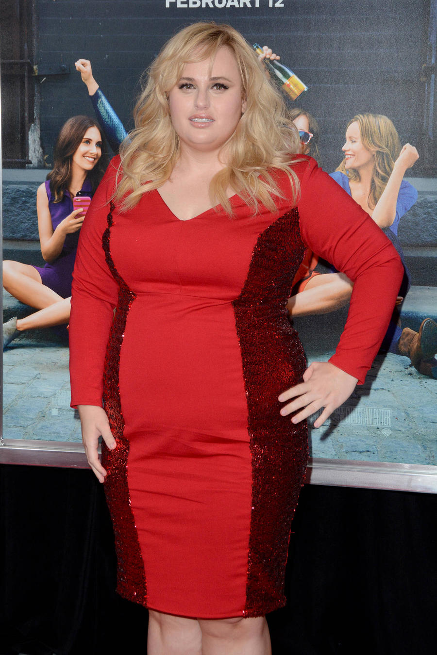 Rebel Wilson's Special Smooch With An Extra