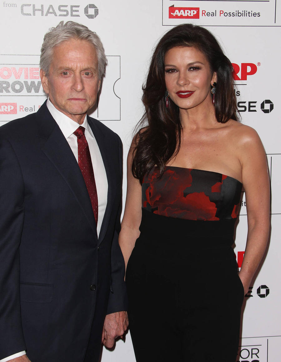 Catherine Zeta-jones And Michael Douglas Have Returned The Spot They Got Engaged