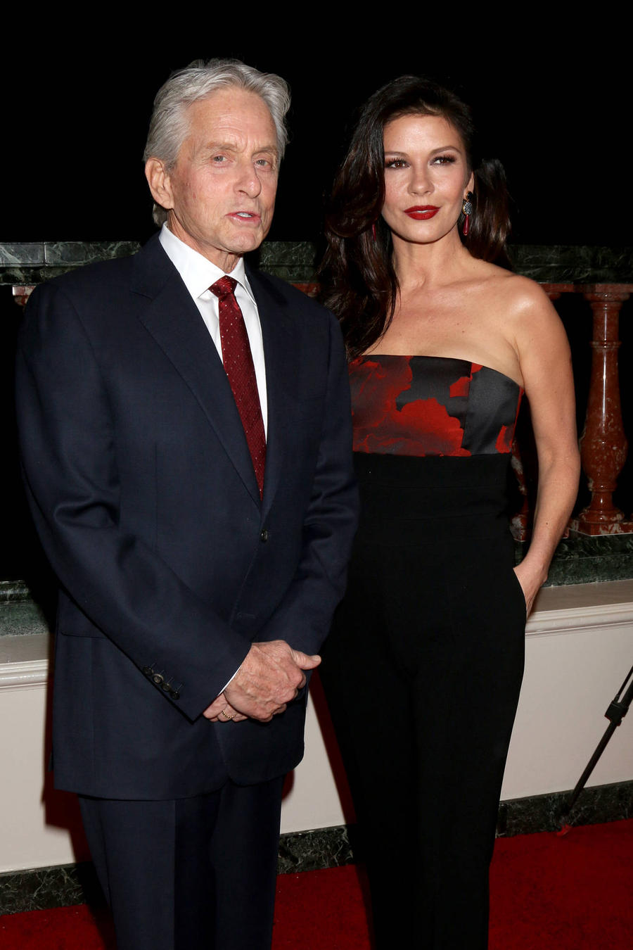 Michael Douglas And Catherine Zeta-jones Joke About Age Gap