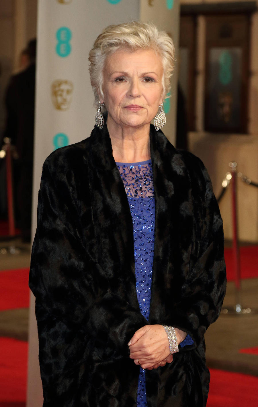 Julie Walters Worries Over Expensive Lost Earring