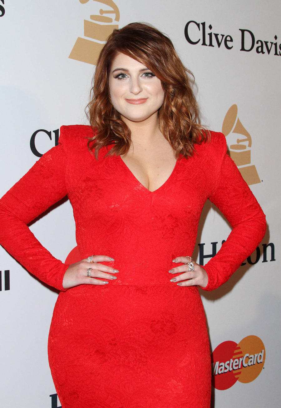 Meghan Trainor Is All About That Bass With Leonardo Dicaprio
