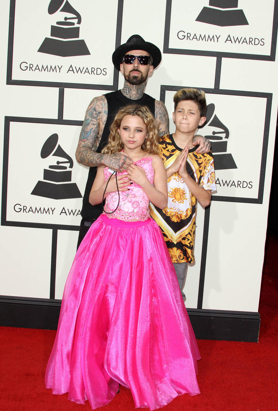 Travis Barker Repairs Relationship With Ex-wife For Their Children