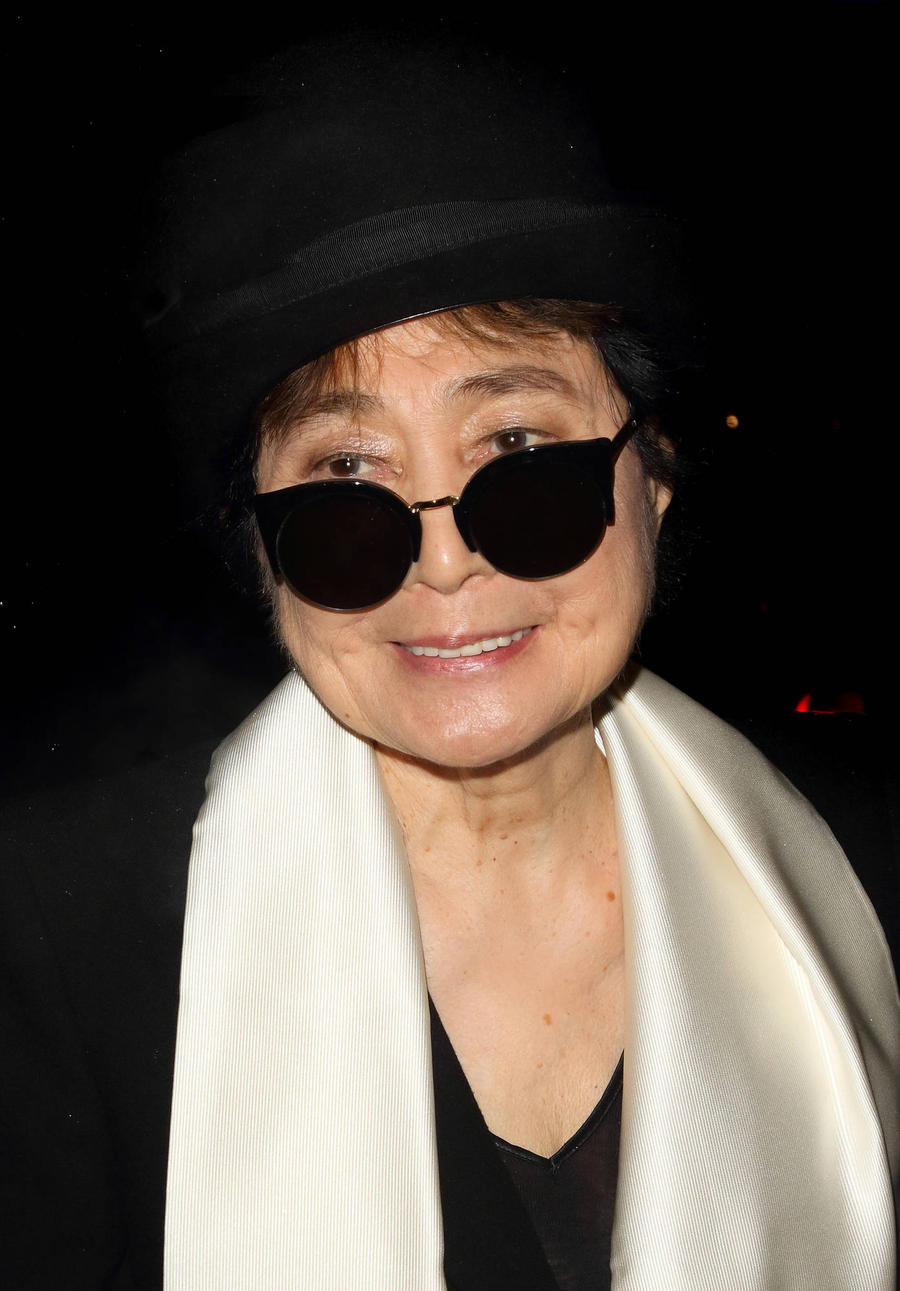 Yoko Ono Hospitalised For 'Flu-like' Symptoms, Not Stroke
