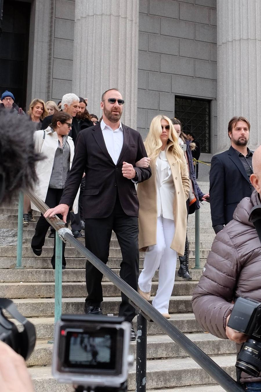 Kesha Emotional Over Judge's Ruling In Lawsuit Against Producer Dr. Luke