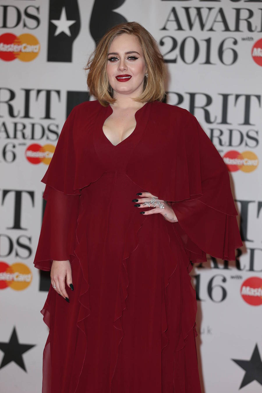 Adele Triumphs At The Brit Awards
