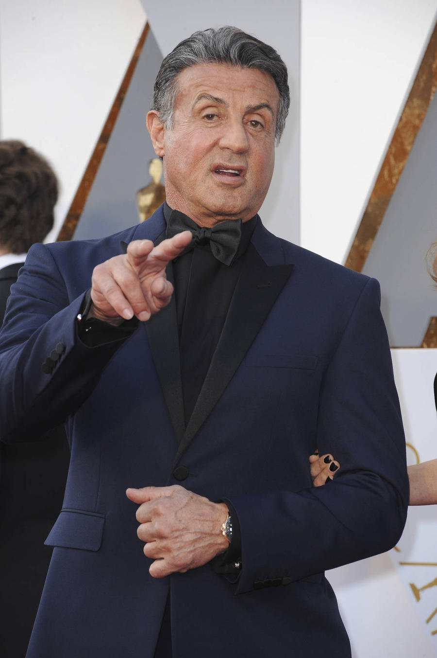 Arnold Schwarzenegger Consoles 'Winner' Sylvester Stallone After Oscar Loss