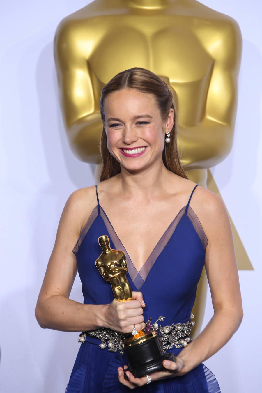 Brie Larson: 'I Thought I'd Pee My Pants During Oscars Speech'