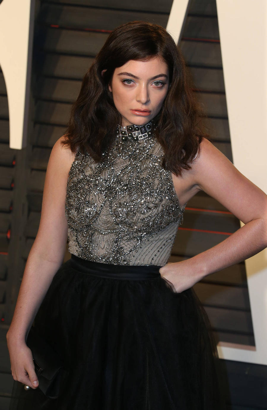 Lorde Suffers Wardrobe Malfunction At Met Gala