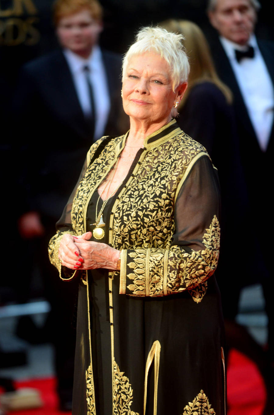 Judi Dench Gets Her First Tattoo For 81st Birthday