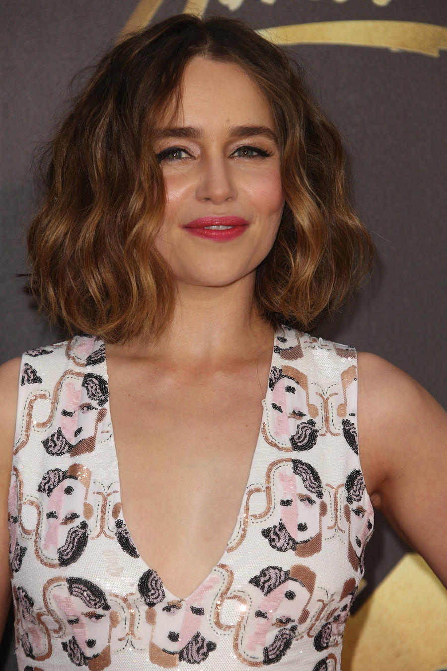 Emilia Clarke Found Herself Dressing Just Like Movie Character