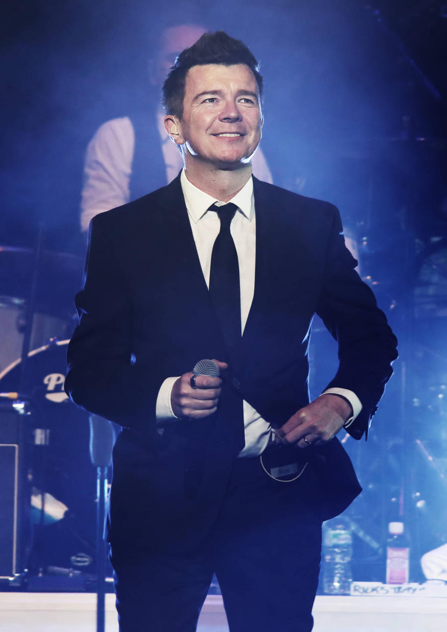 Rick Astley Secretly Wed Longtime Partner