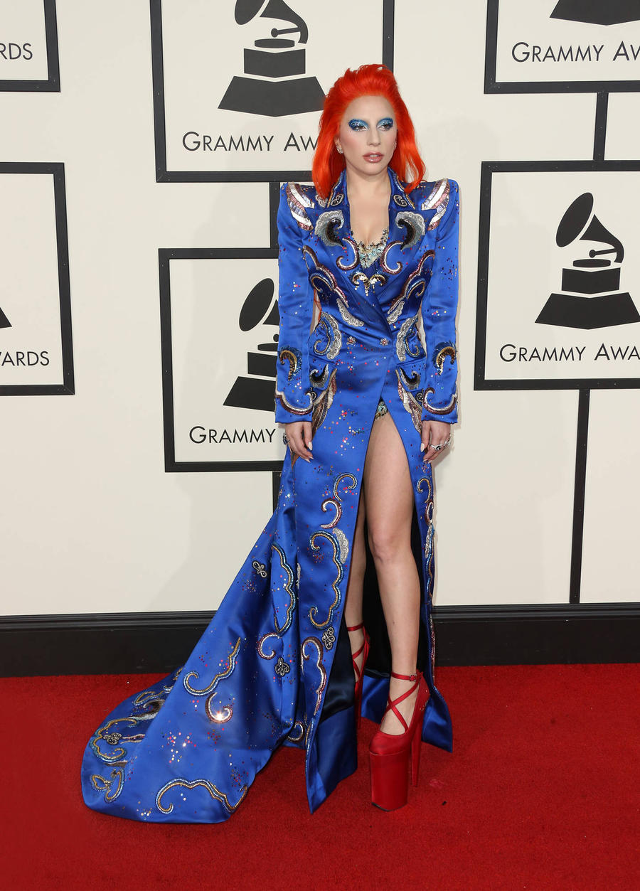 Lady Gaga 'Hurt' By Criticism Of Grammys Tribute From David Bowie's Son