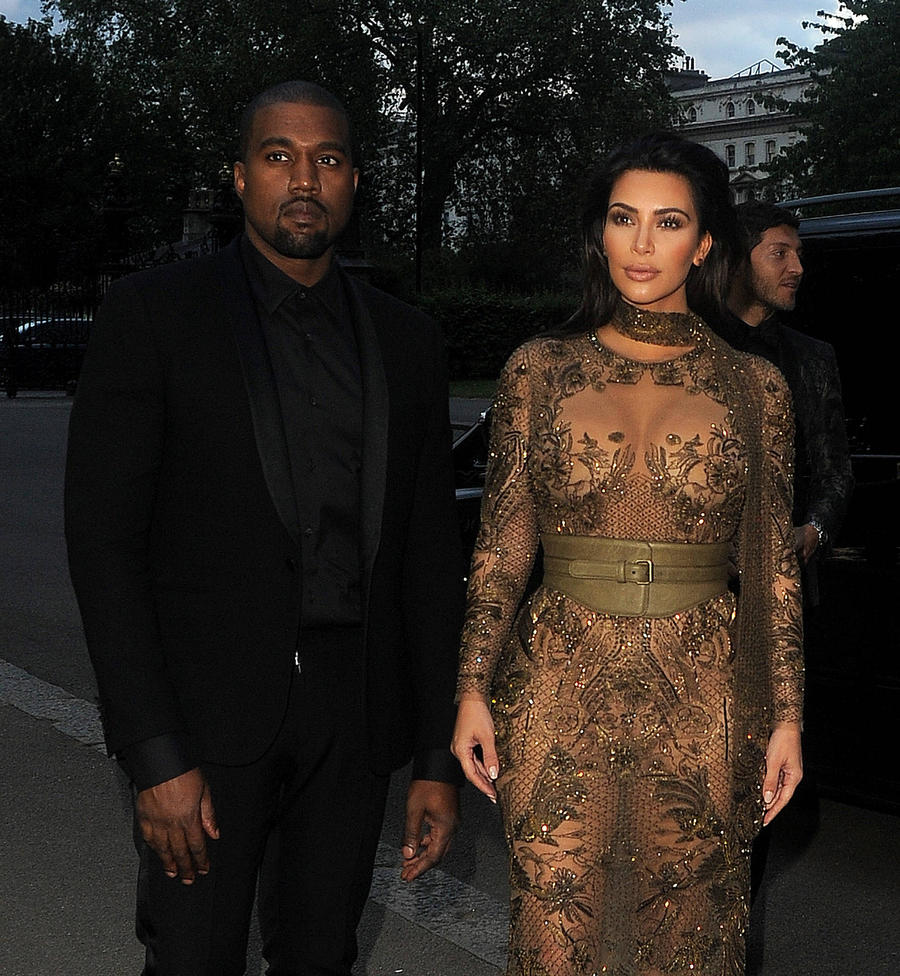 Kim Kardashian And Kanye West Gift Fan Rapper's Sneakers