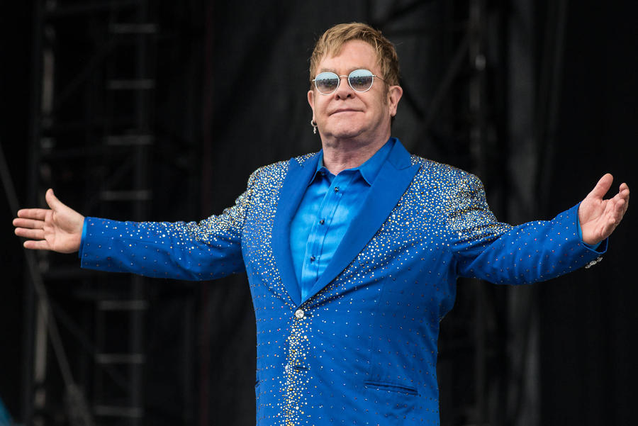 Elton John Encouraged By 'Rainbow-coloured Wave Of Love' After Orlando Massacre