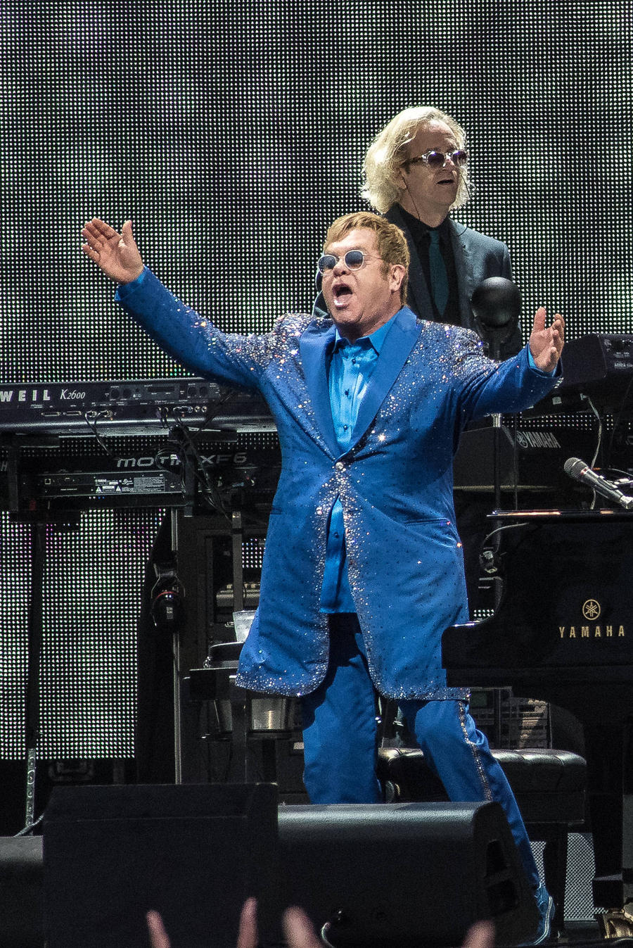 Elton John 'Launches Rant At Concert Security Guards'