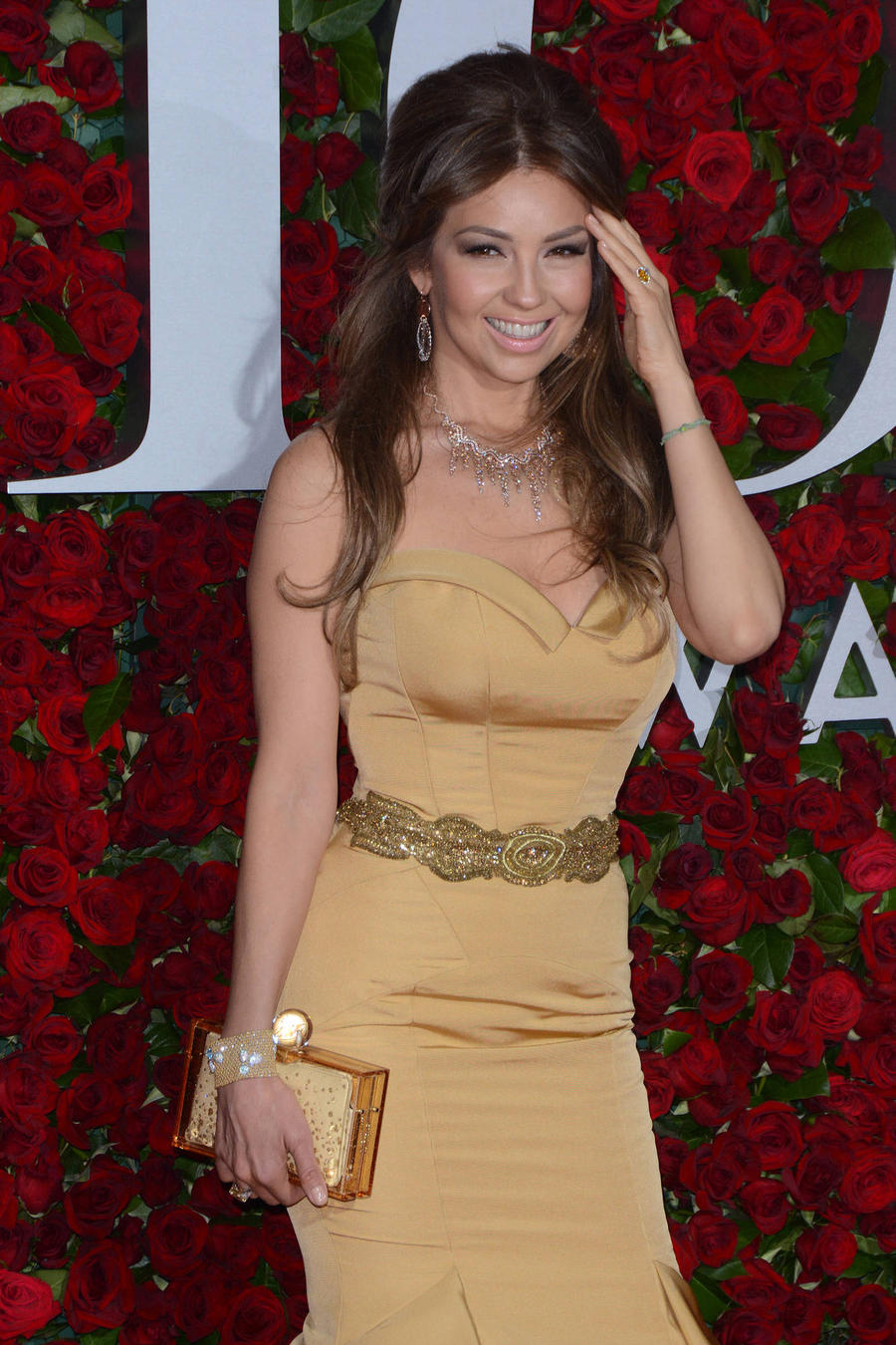 Thalia Upset With Reports She's A Donald Trump Supporter