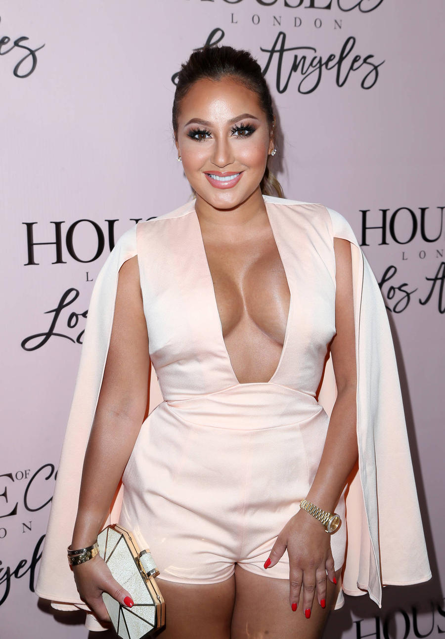 Adrienne Bailon And Fiance Hold Joint Wedding Shower