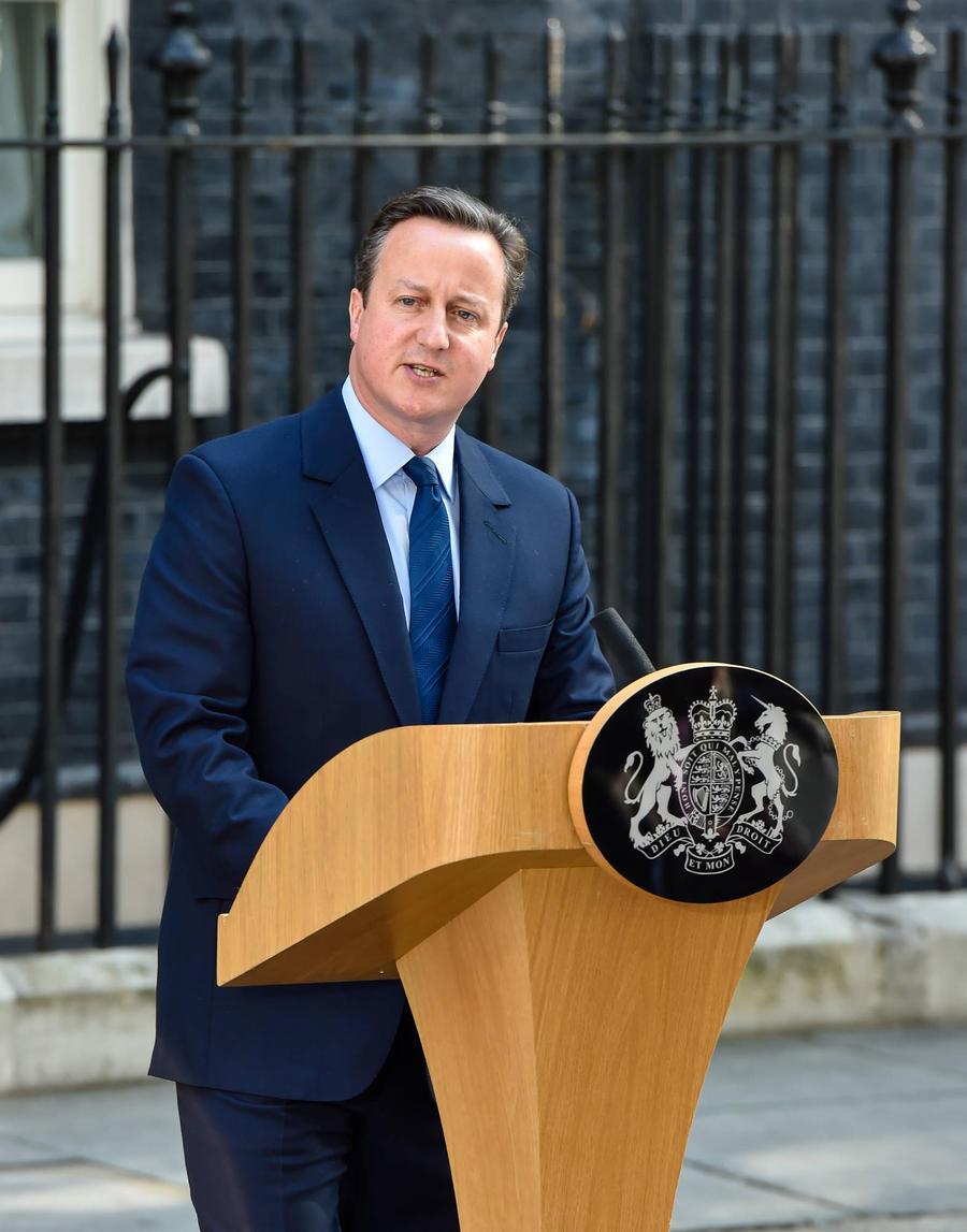 U.k. Prime Minister David Cameron Resigns