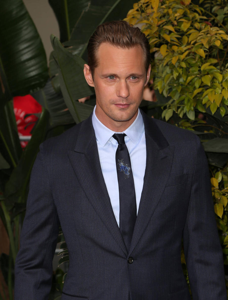Alexander Skarsgard Enjoyed Family Feast After 'Horrible' Tarzan Diet
