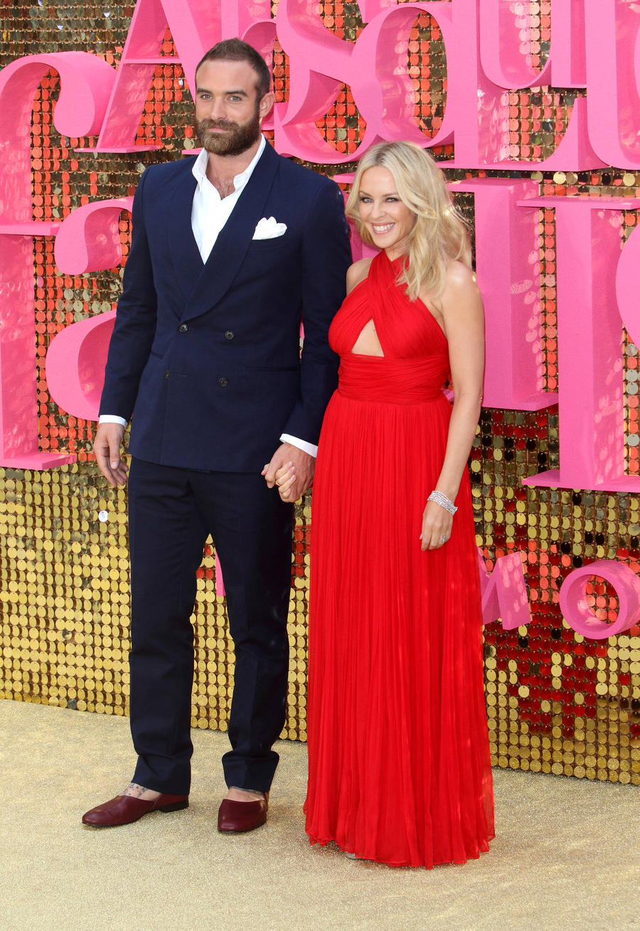 Kylie Minogue's Fiance Gushes Over Their Sexy Romance