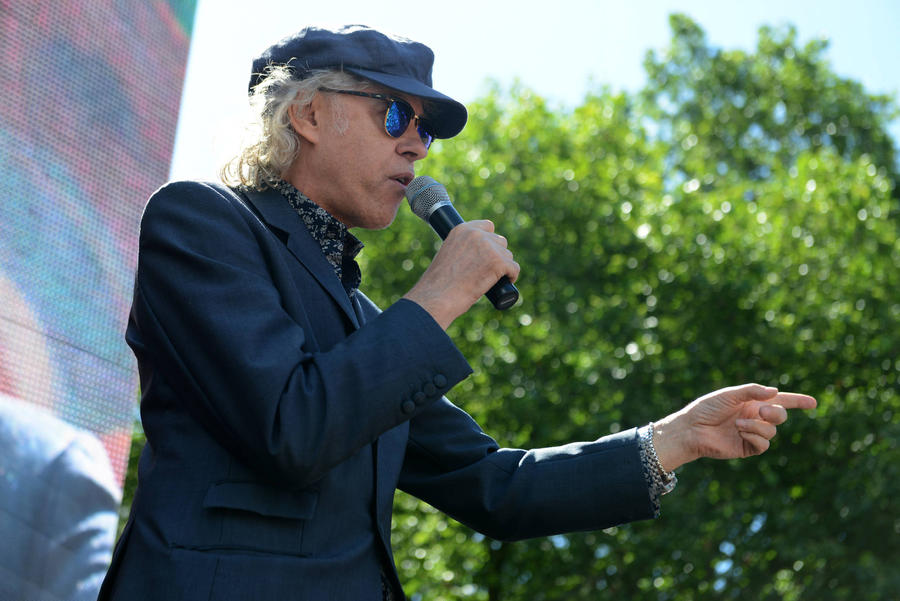 Fans Walk Out Of Festival Over Bob Geldof's Expletive-ridden Rant