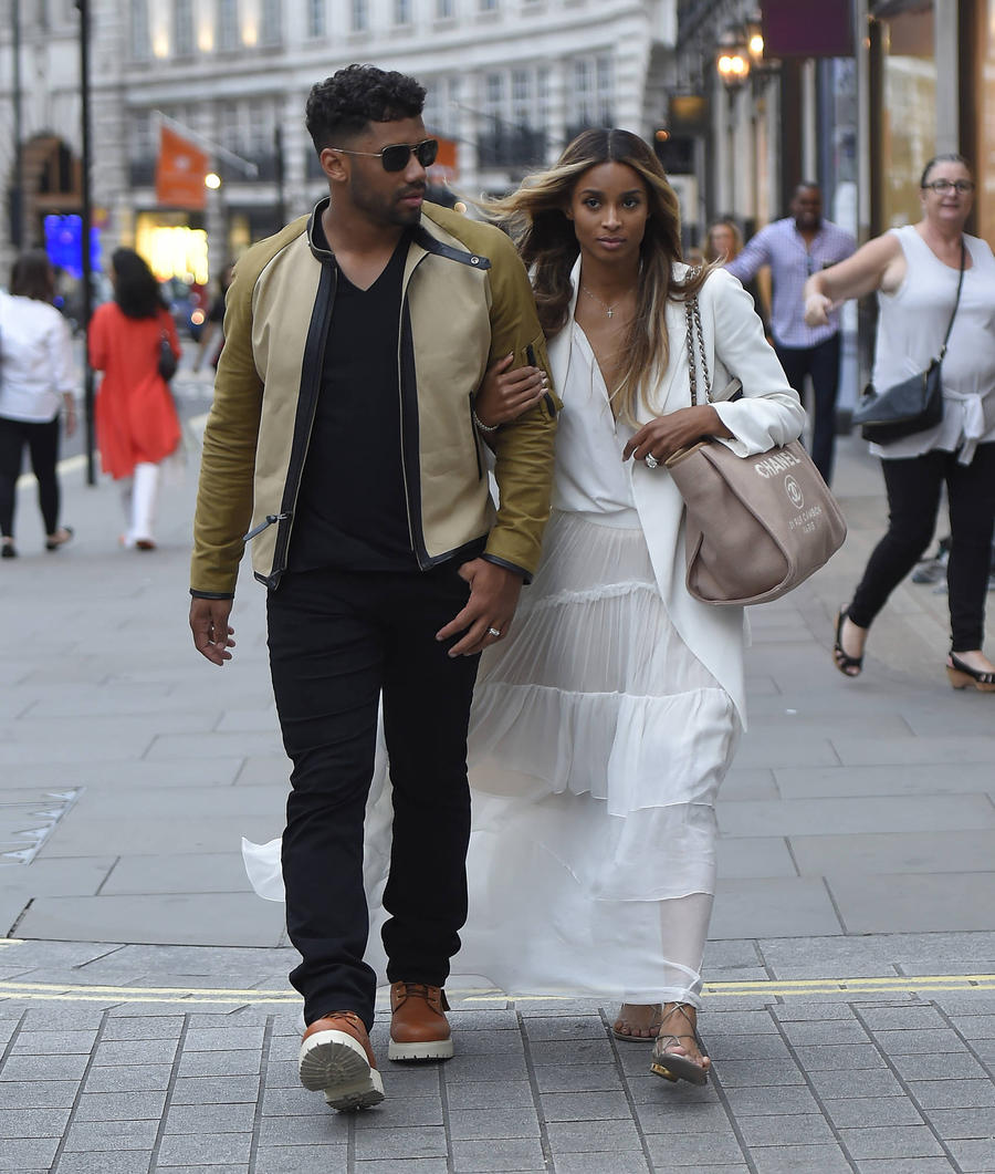 Newlyweds Ciara And Russell Wilson In No Rush To Have Children