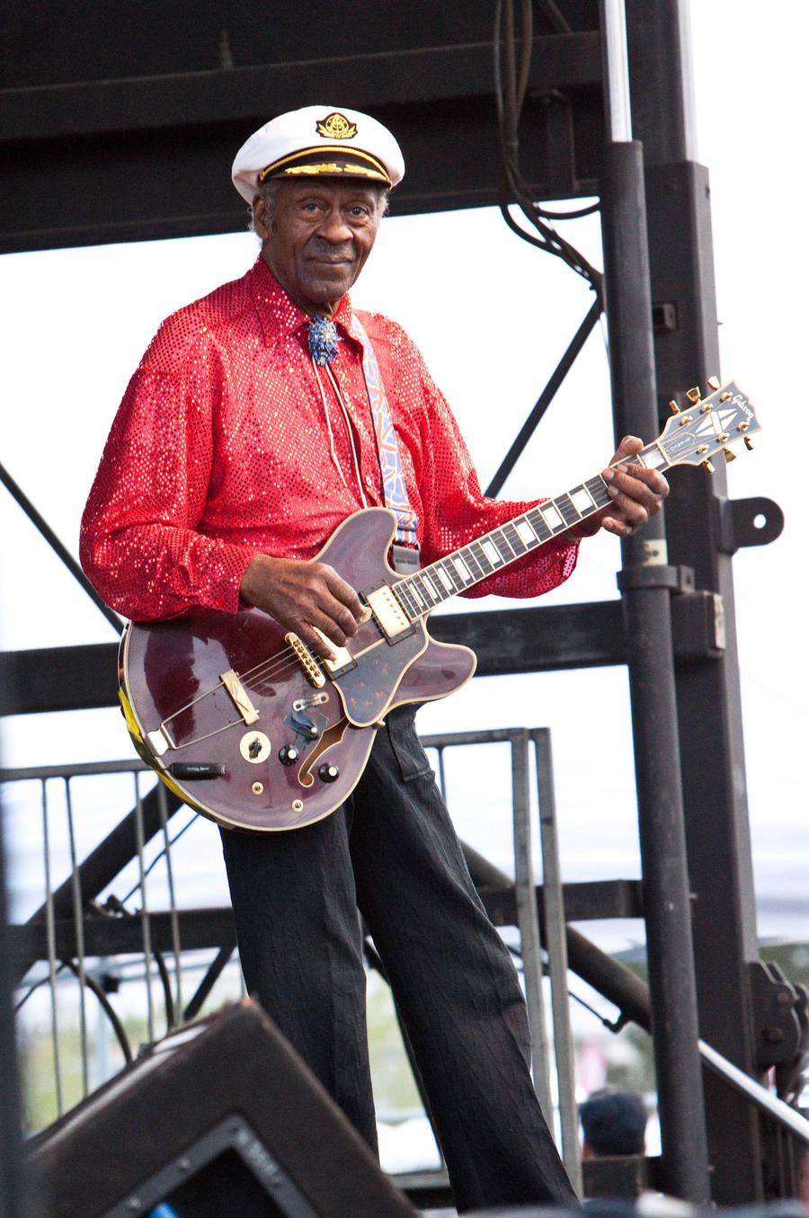 Chuck Berry's Fans Will Be Able To Say Goodbye To Johnny B. Goode Singer