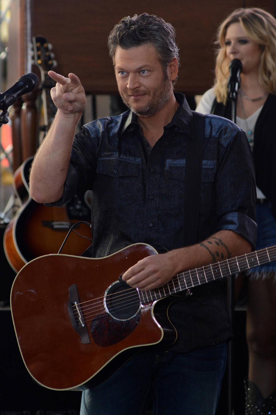 Blake Shelton Gets Into Online Dispute With Westboro Baptist Church