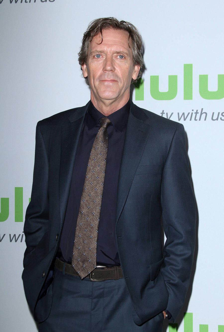 Hugh Laurie Accepts St...
