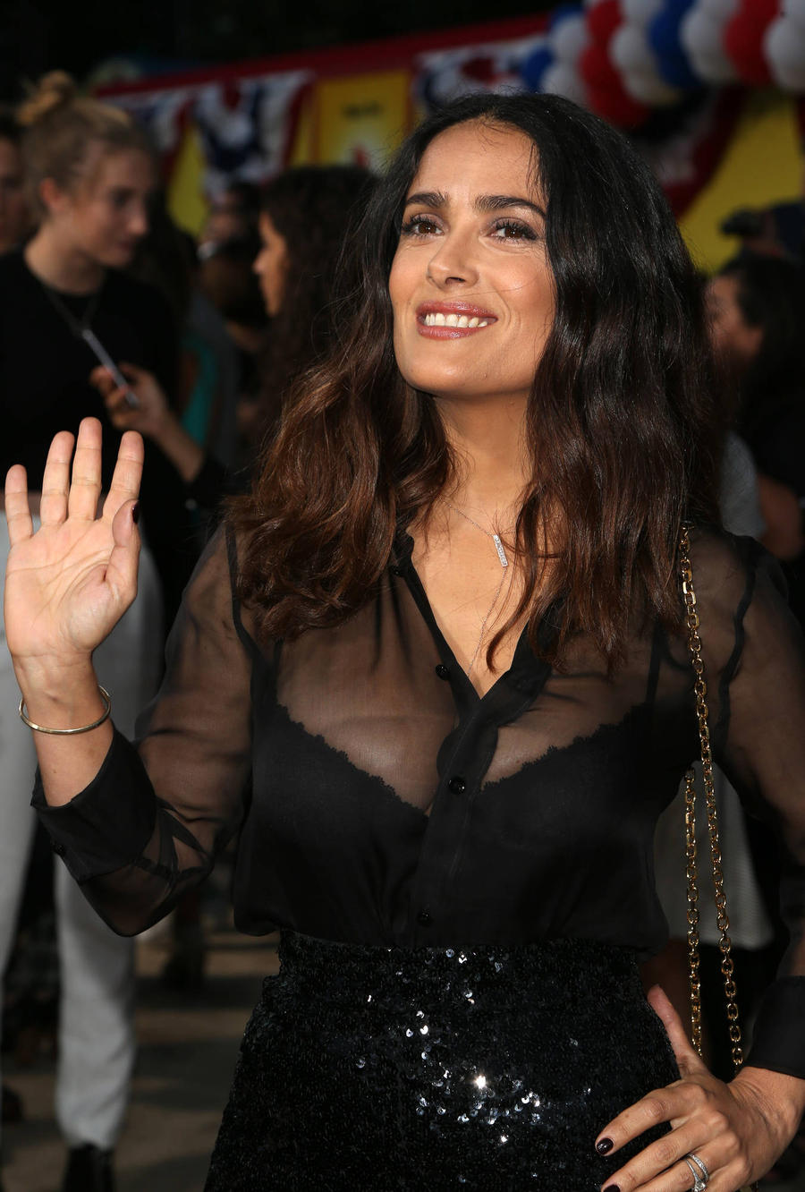 Salma Hayek Sends Well Wishes To Olympian Relative