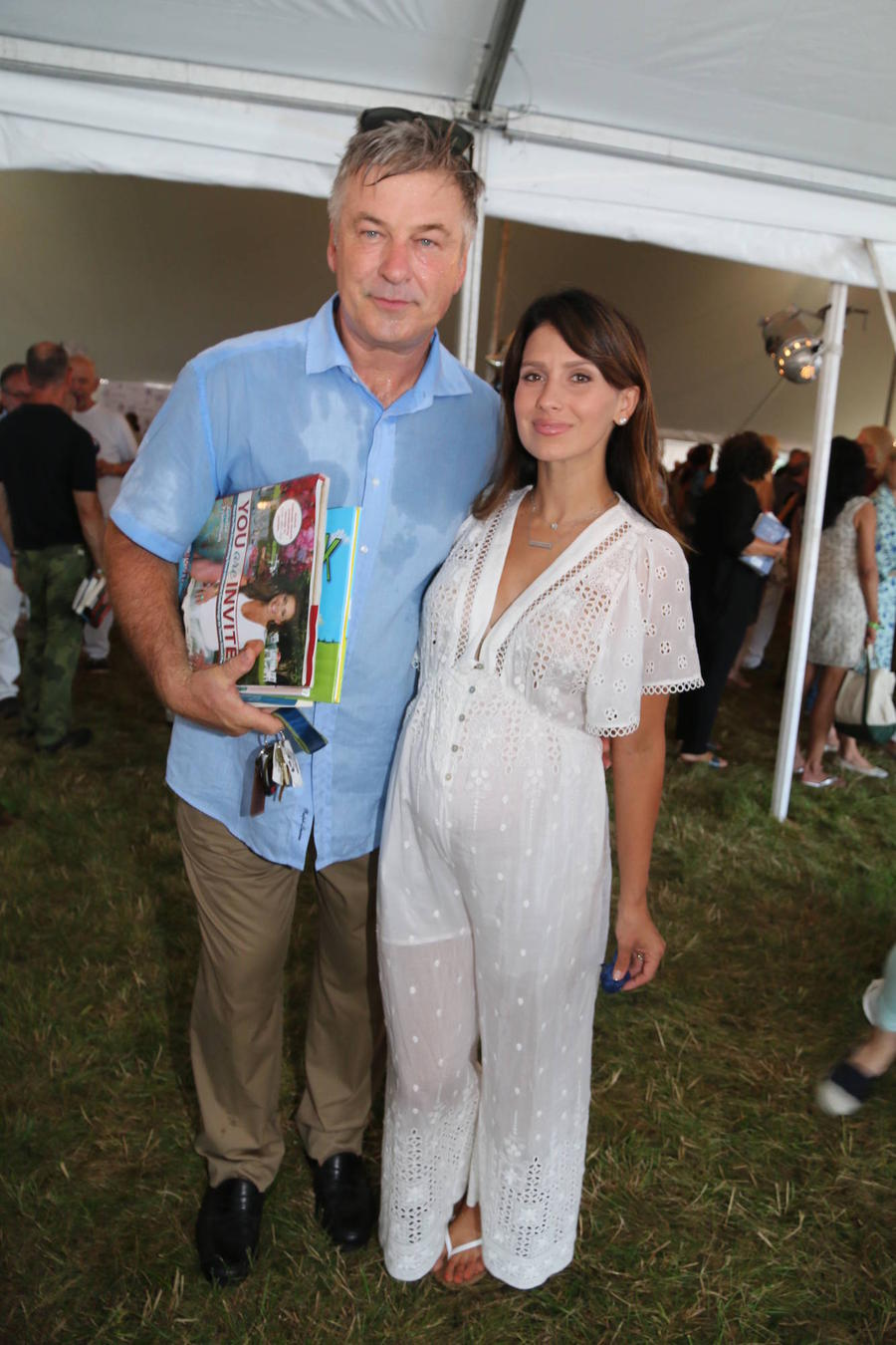 Alec And Hilaria Baldwin Welcome Son Leonardo