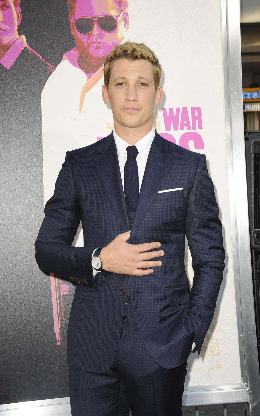 Miles Teller's Dad Pushed Him To Land War Dogs Role