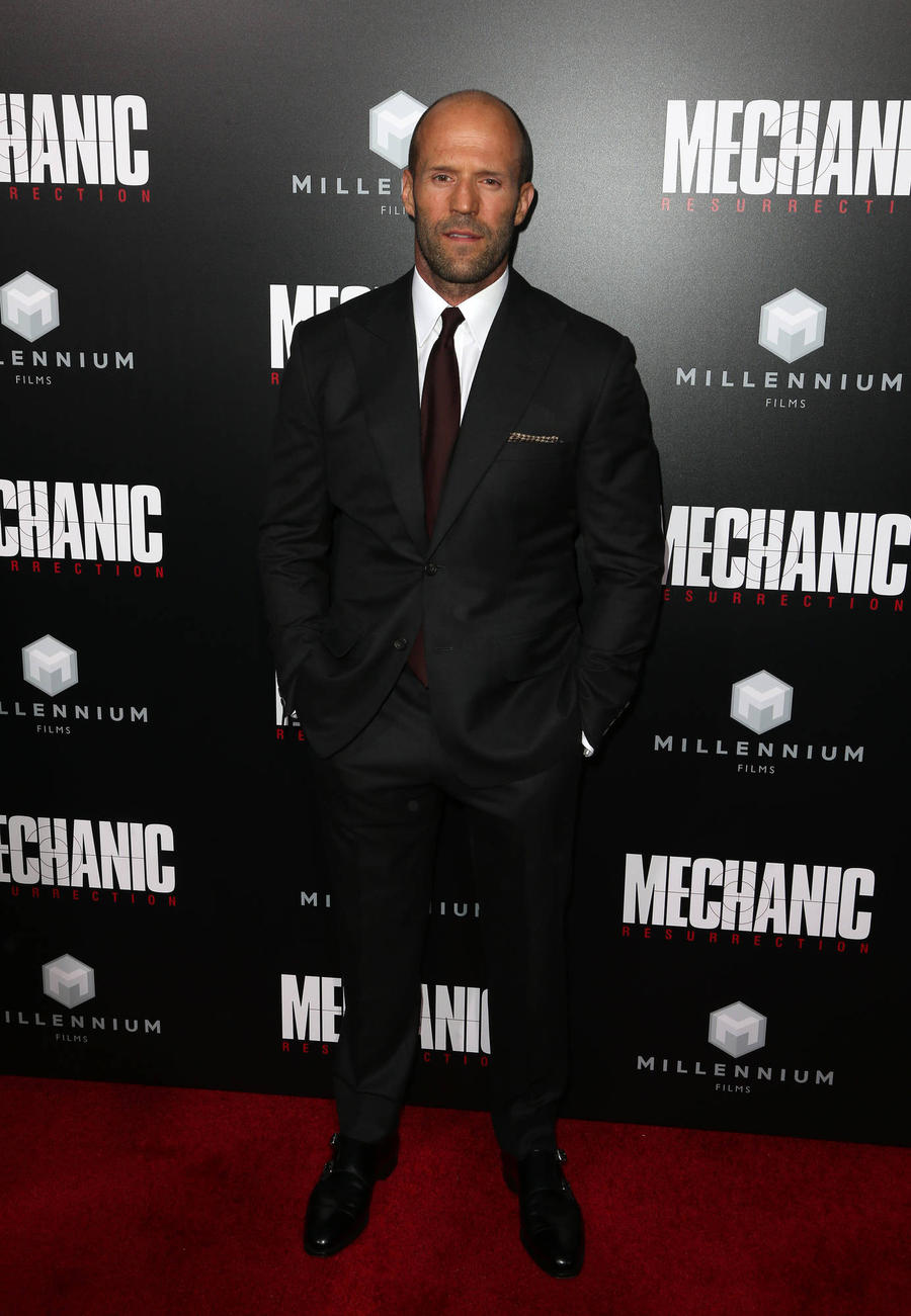 Jason Statham Mocks Guy Ritchie In Push-up Challenge Video