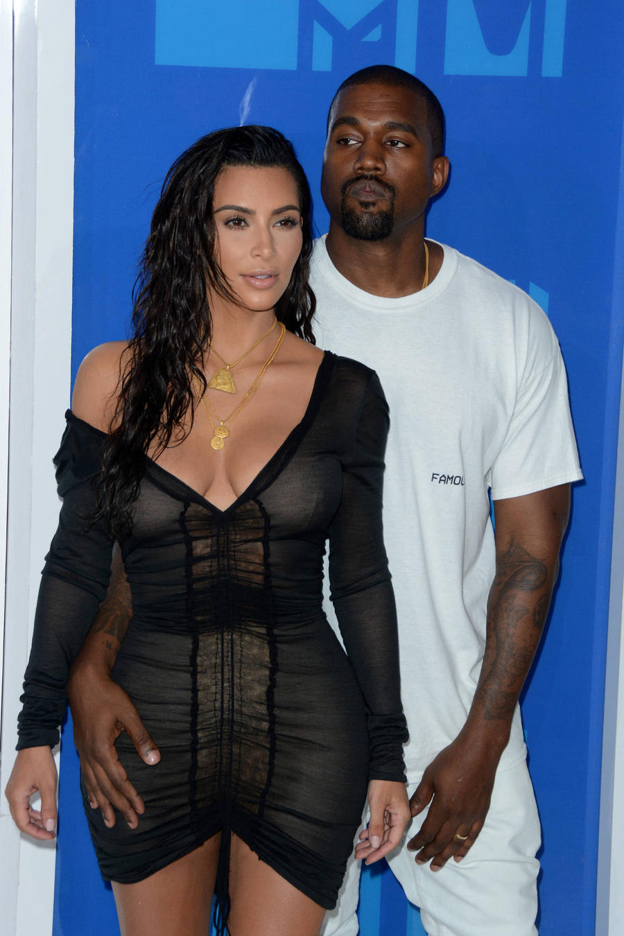 Kim Kardashian Abandons Father's Tribute As Kanye West Is Hospitalised