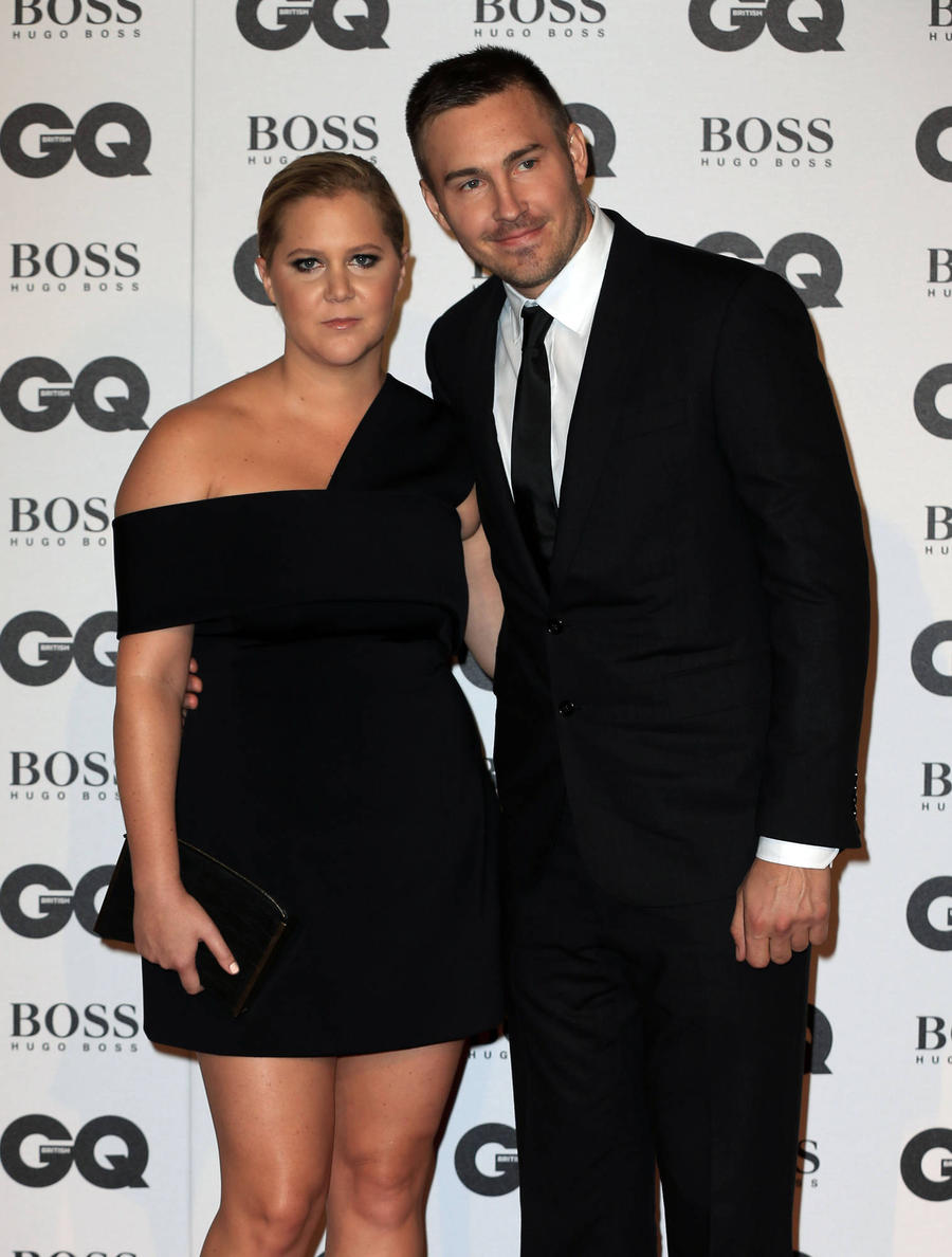 Amy Schumer Celebrates One-year Anniversary With Ben Hanisch