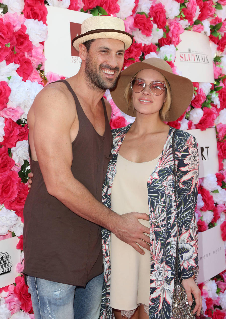 Dancers Maksim Chmerkovskiy And Peta Murgatroyd Welcome First Child