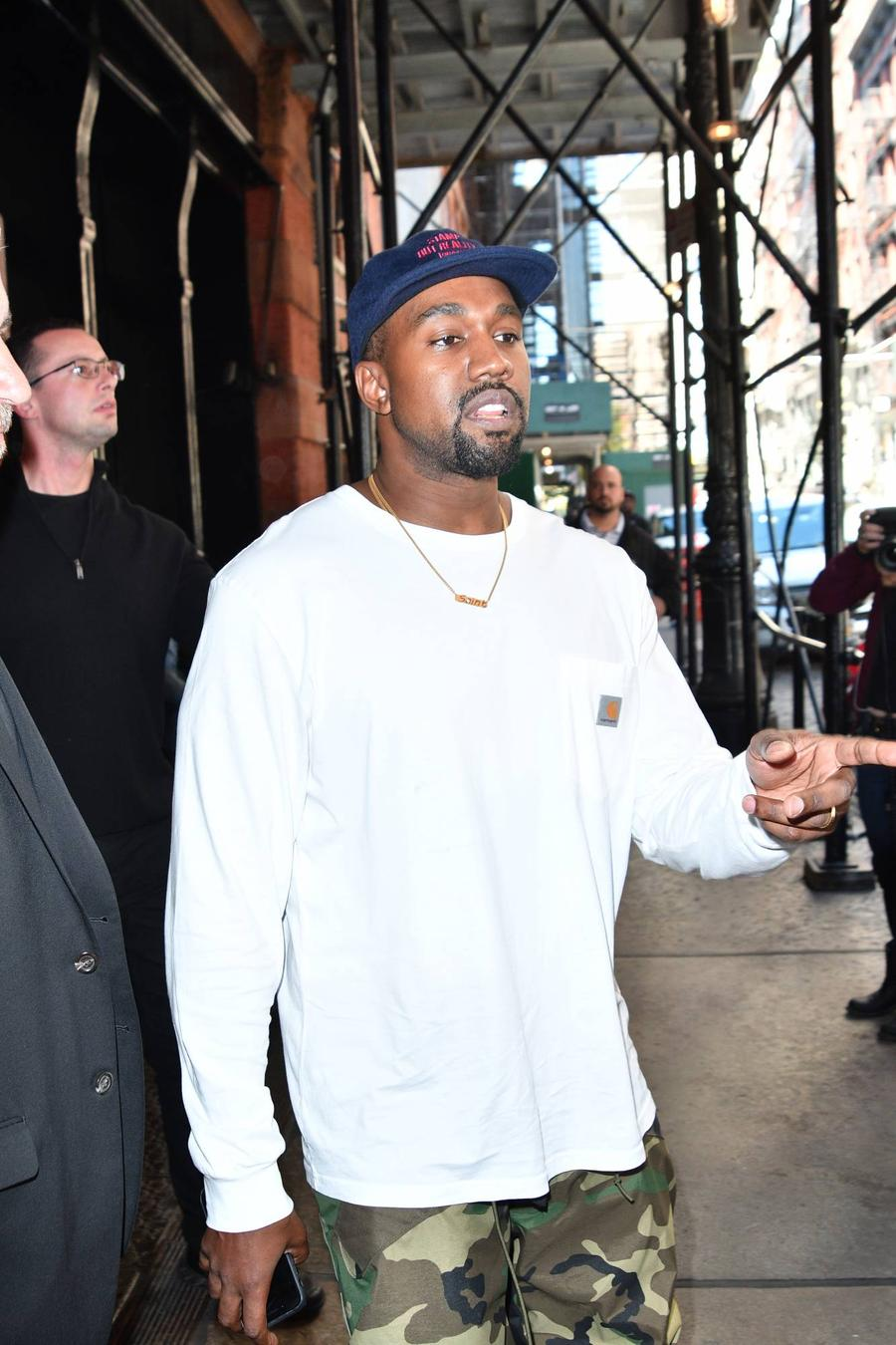 Kanye West Resumes Tour In Chicago