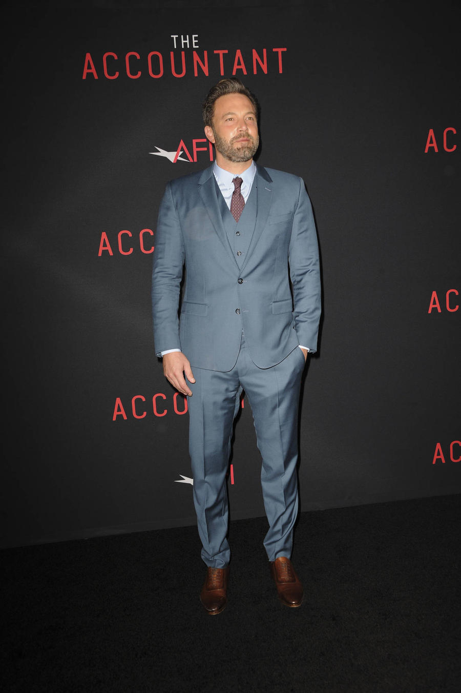 Ben Affleck Holds Up Premiere To Watch Baseball Game
