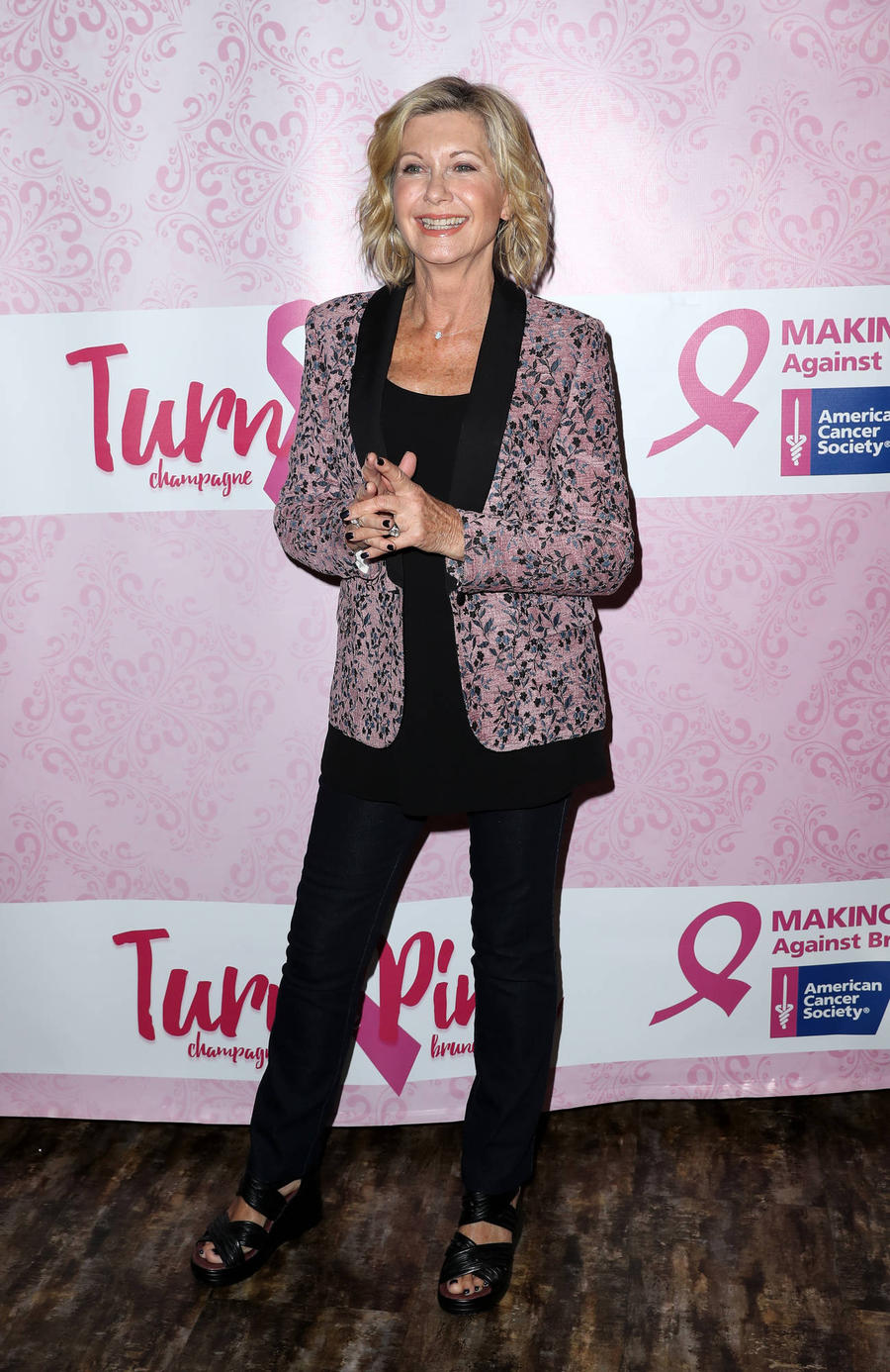 Olivia Newton-john Launches Holiday Season In Hollywood