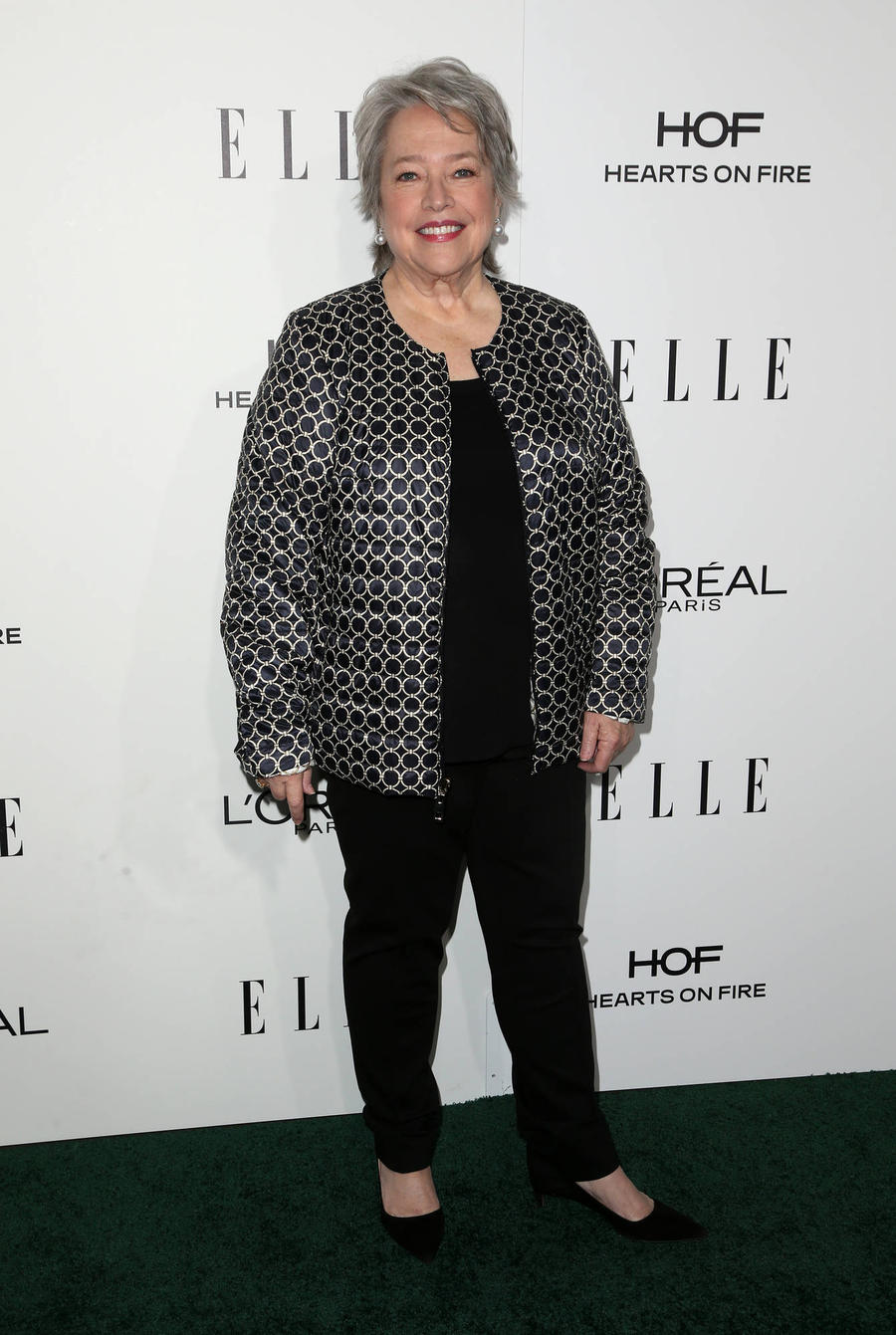 Kathy Bates Never Goes Shopping For Holiday Presents
