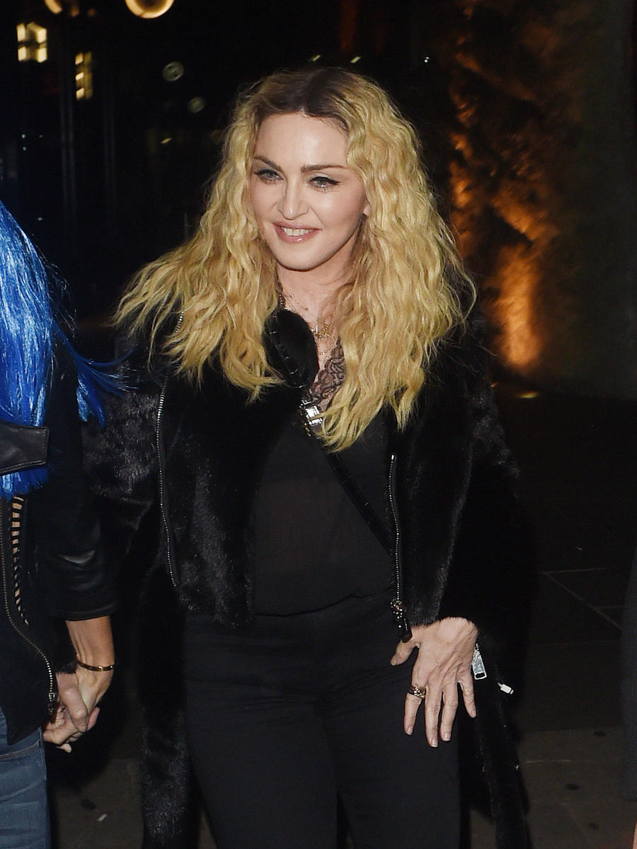 Madonna Hits The Floor At London Photo Exhibition