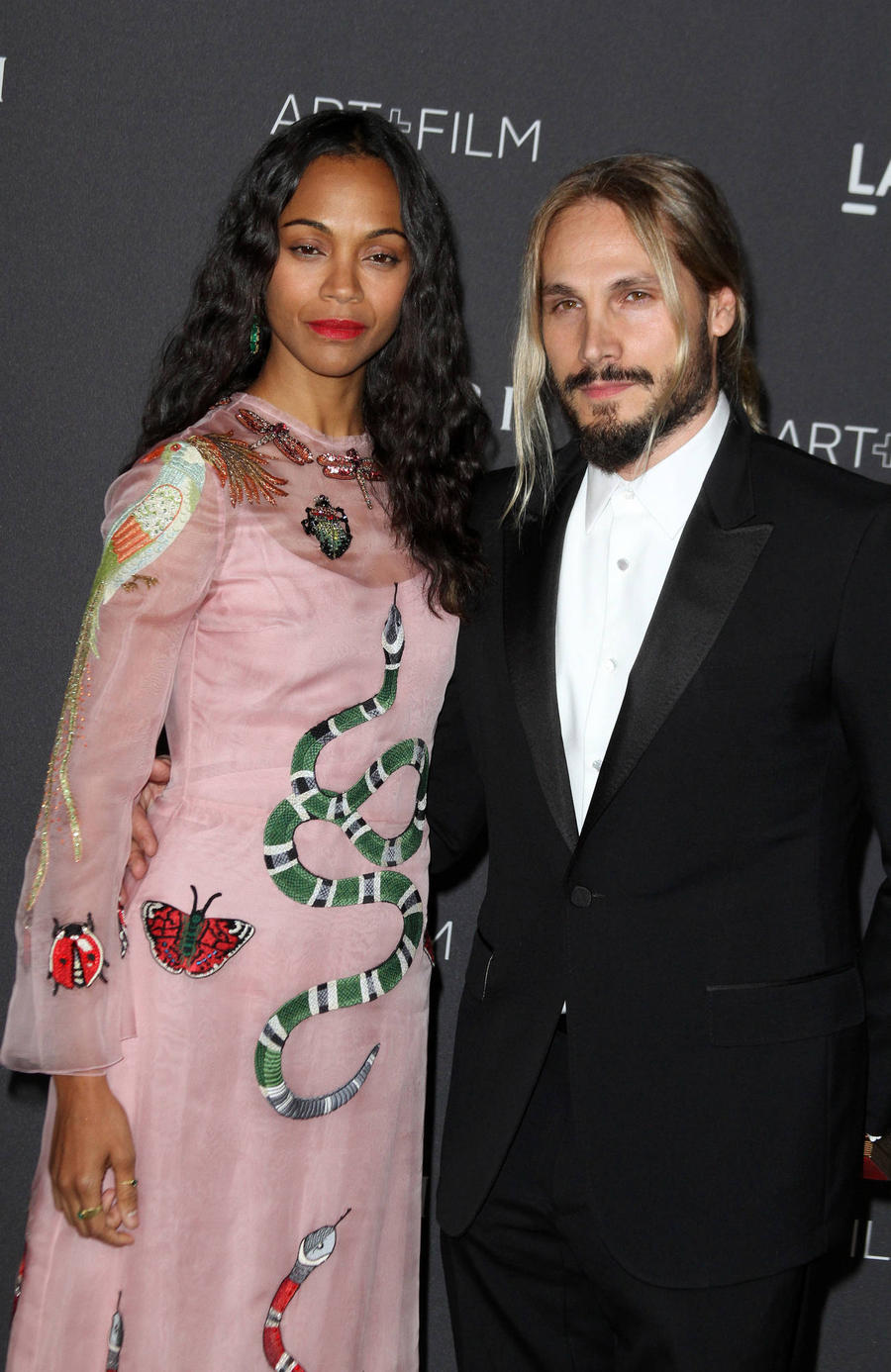 Zoe Saldana Gets Tattoo Of Husband's Face On Torso