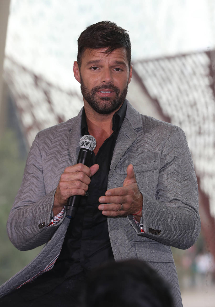 Ricky Martin Has No Qualms Keeping Kids Close On Tour