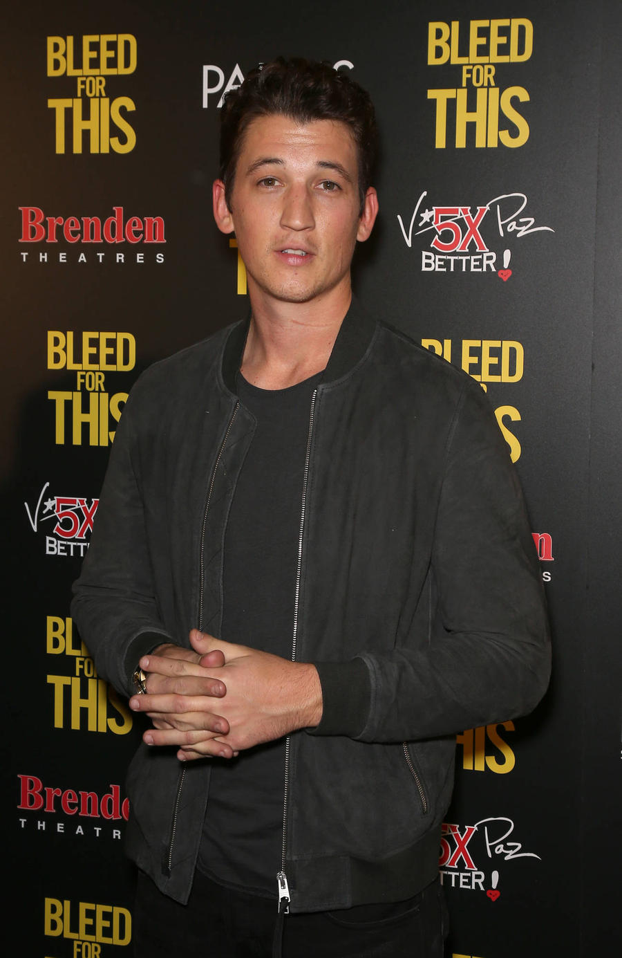 Miles Teller Still 'Banged Up' After Pre-christmas Car Crash