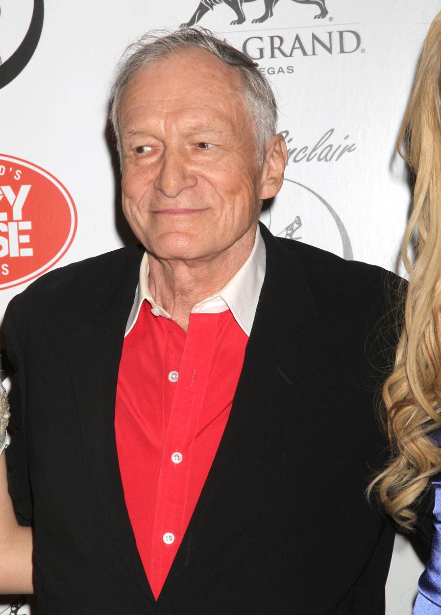 Hugh Hefner Pays Tribute To Late Brother