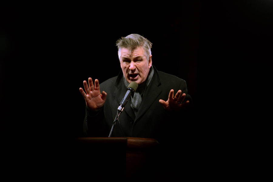 Alec Baldwin Revisits Donald Trump Impression For Star-studded Protest