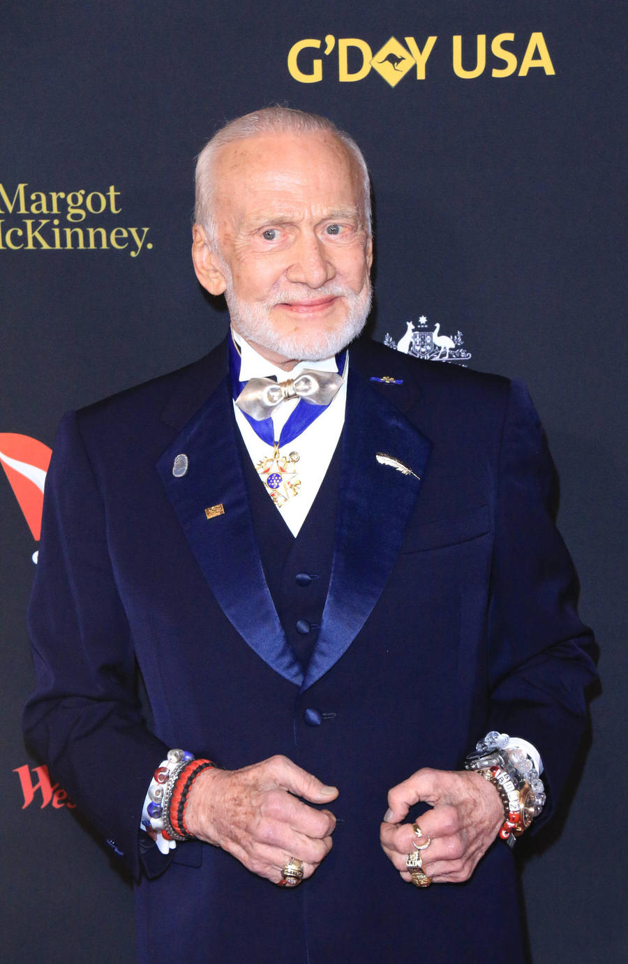 Buzz Aldrin Takes One Small Step For Menswear At New York Fashion Week