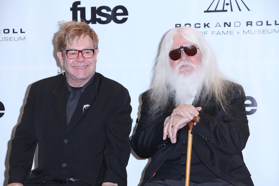 Elton John Remembers 'Darling' Friend Leon Russell